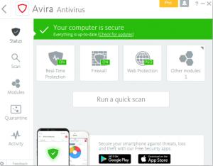 Avira Antivirus Pro 15.0.2103.2081 Keygen