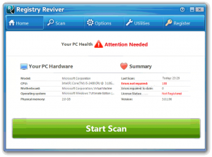 Registry Reviver 4.22.3.2 License Key