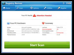 Registry Reviver 4.22.3.2 License Key