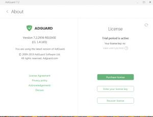 Adguard Premium 7.5.3371.0 Keygen