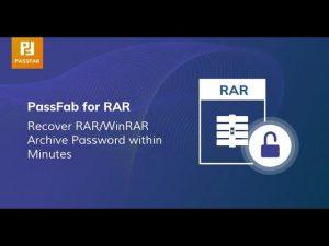 PassFab For RAR 9.4.4.0 Crack