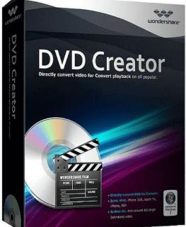 Wondershare DVD Creator 6.3.2.175 Crack