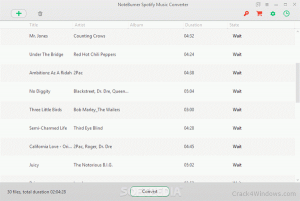 NoteBurner Spotify Music Converter 2.1.3