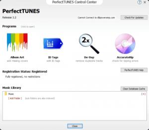 PerfectTUNES R3.3 v3.3.0.1 Keygen