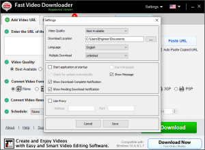 Fast Video Downloader license Key